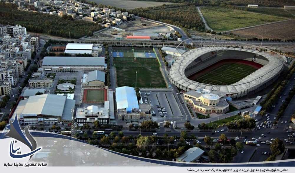 استادیوم در حال ساخت امام رضا (ع) شهر مشهد