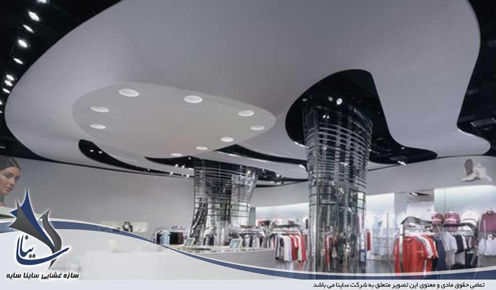 طراحی دکوراسیون داخلی با سازه چادری
