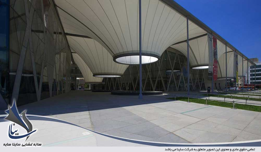 سازه پارچه ای فضای عمومی