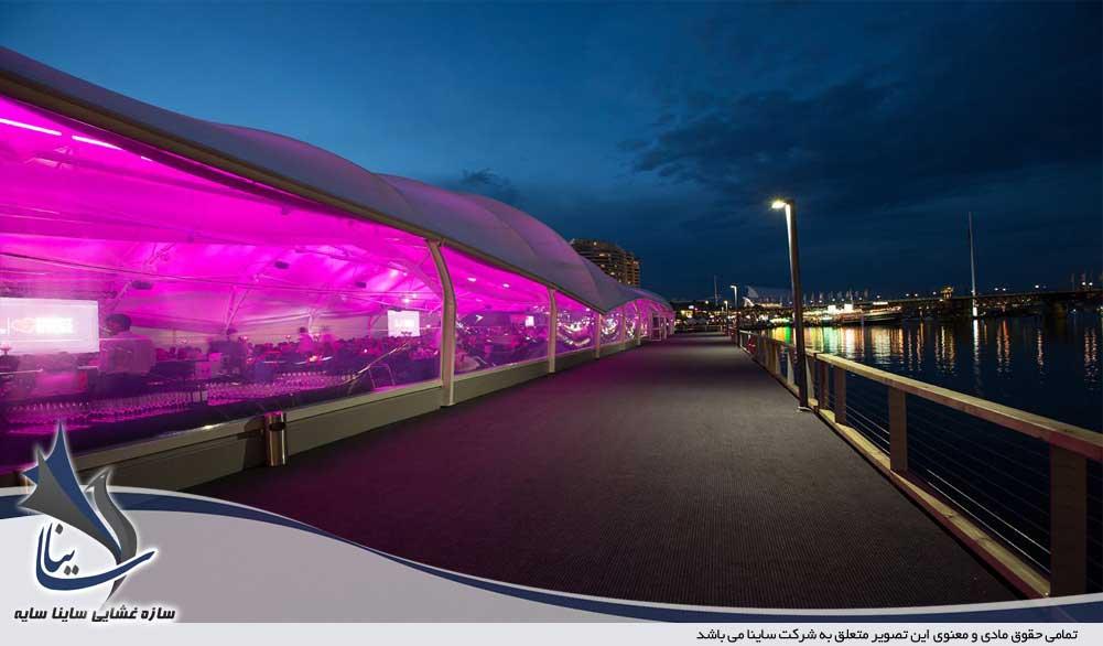 ETFE restaurant