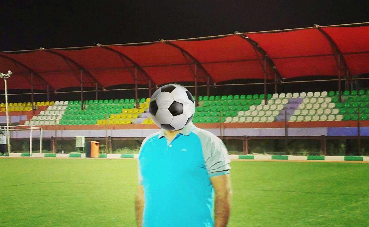 تغییر جنس و رنگ پارچه استفاده شده در استادیوم لواسان