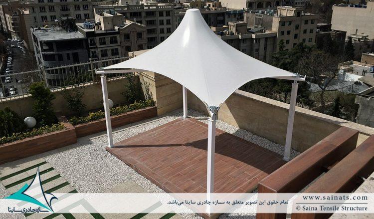 آلاچیق چادری روفگاردن دیباجی