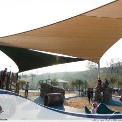 آلاچیق و پارکینگ چادری مجموعه ورزشی تفریحی امریکا