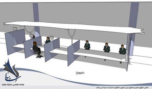 دکوراسیون داخلی با سایبان چادری