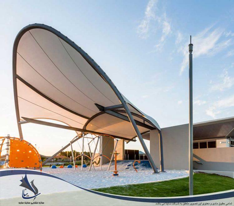 سازه پارچه ای محوطه ورزشی
