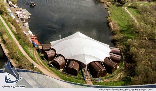 سازه چادری مدرن