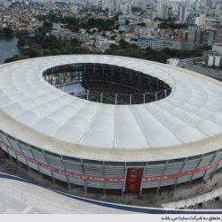 سقف پارچه ای استادیوم