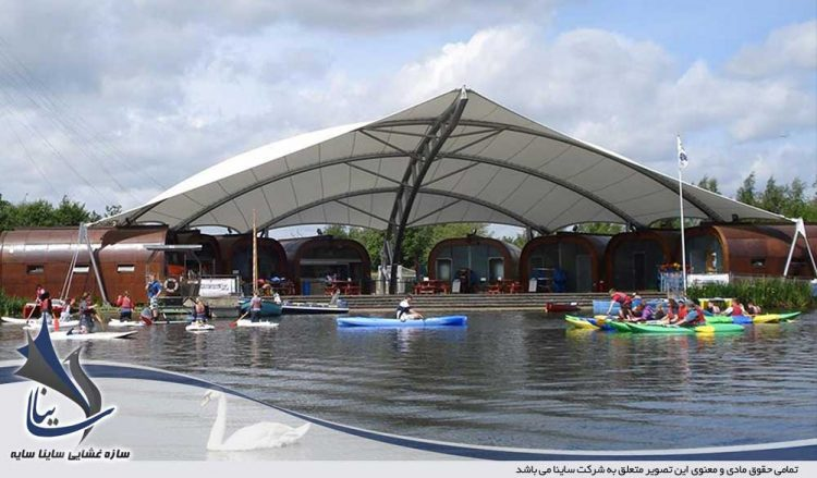 سقف پارچه ای مدرن