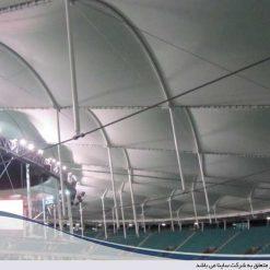 سقف چادری استادیوم
