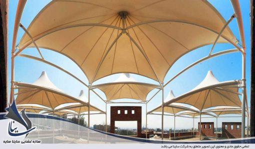 سقف چادری طرح پارادایس