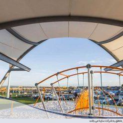 سقف چادری فضای باز
