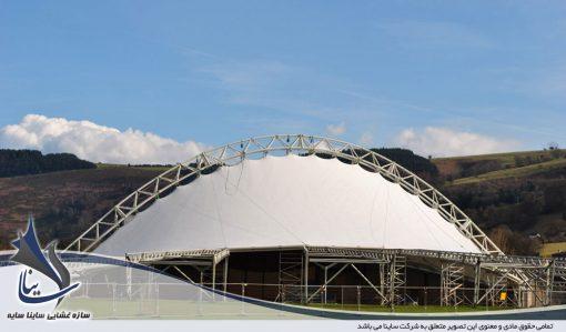 سقف چادری نمایشگاه