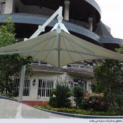 سقف چادری ویلا
