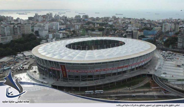 پوشش پارچه ای استادیوم ورزشی