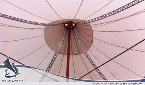 آلاچیق چادری سایبان فضای باز دانشگاهدوپاق