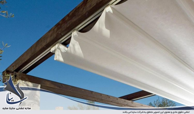moving fabric structure