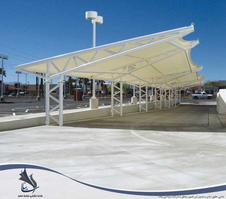 parking roof tensile fabric