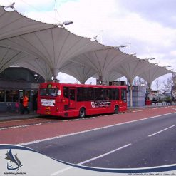سایبان پارکینگ اتوبوس و ترمینال مسافری