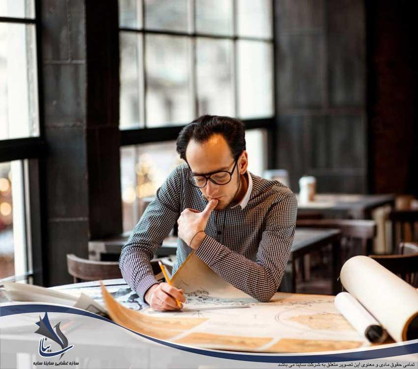 چگونه می توان در سه مرحله طراحی سازه پارچه ای را شروع کرد؟
