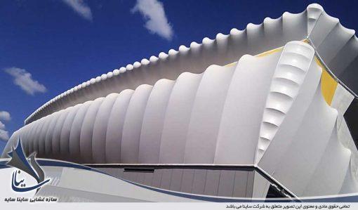 tensile fabric facade design