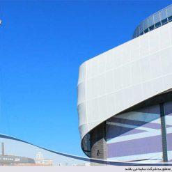 tensile fabric facade structure