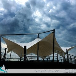 اجرای سازه چادری دکوراتیو