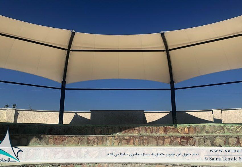 نمونه پروژه سایبان چادری آمفی تیاتر - تصویر چهارم