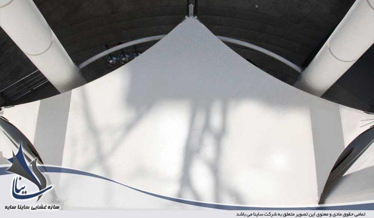 سایبان چادری ورودی ساختمان