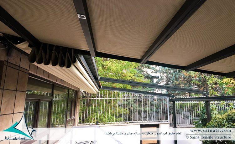 سقف متحرک کافه نیاوران