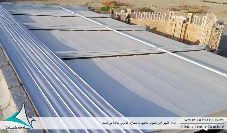 پروژه سقف متحرک پارکینگ در سیریک