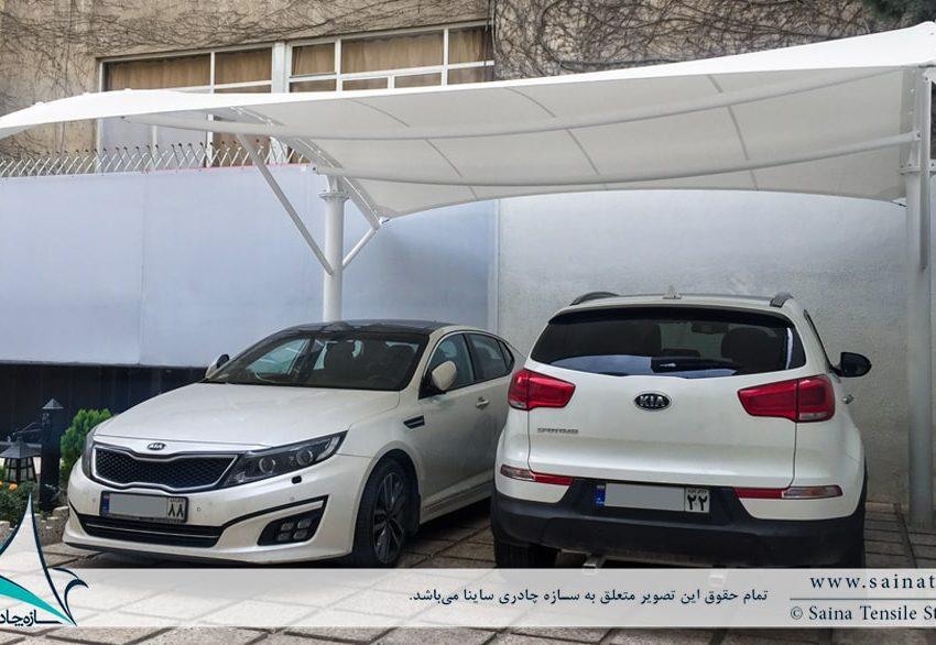 سایبان پارکینگ خودرو