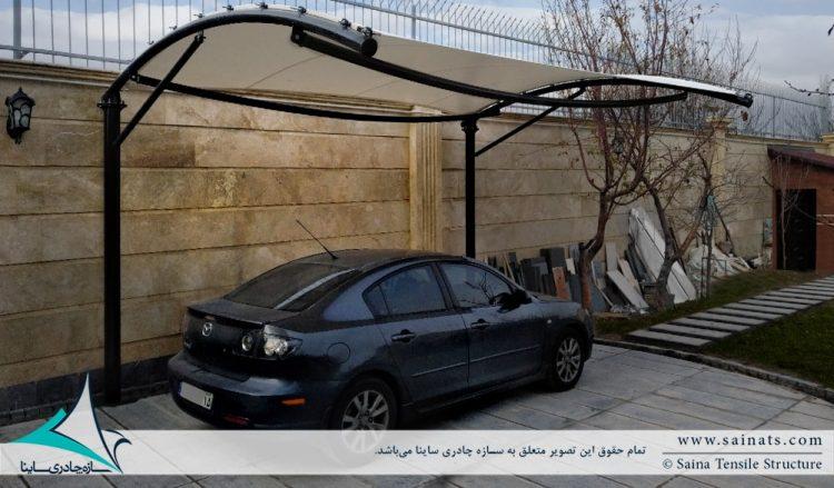 اجرای سایبان پارکینگ خودرو در تبریز