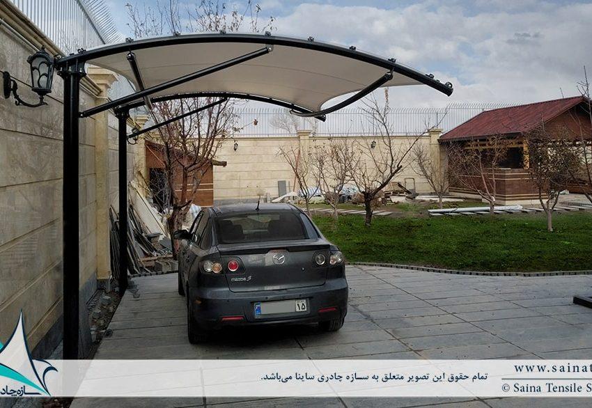سایبان پارکینگ خودرو در تبریز