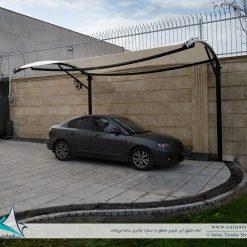 اجرای سایبان پارچه ای پارکینگ خودرو در تبریز