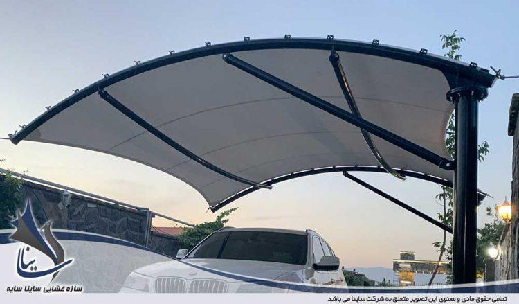 پروژه اجرای سقف پارکینگ ویلا در کردان