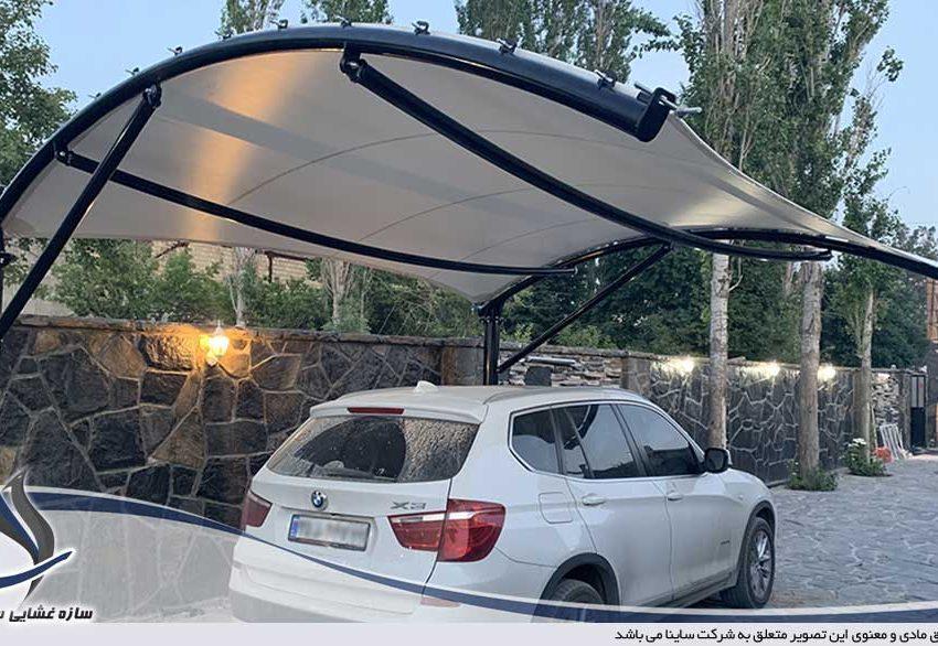 اجرای سقف پارکینگ ویلا در کردان