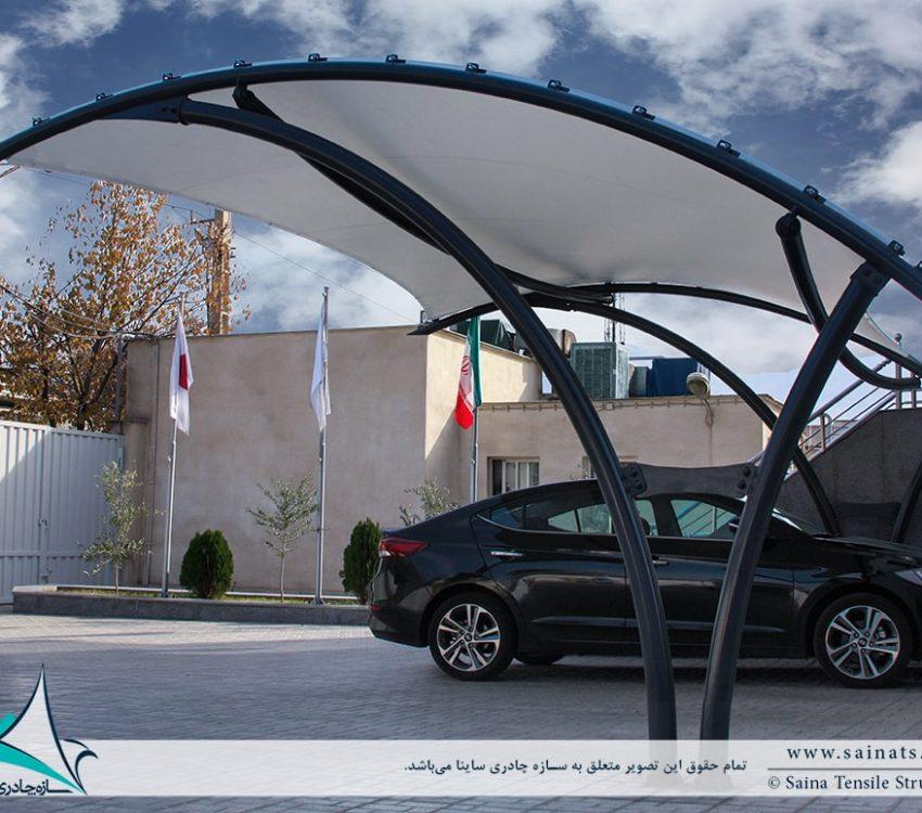 اجرای سایبان چادری پارکینگ ماشین در تهران