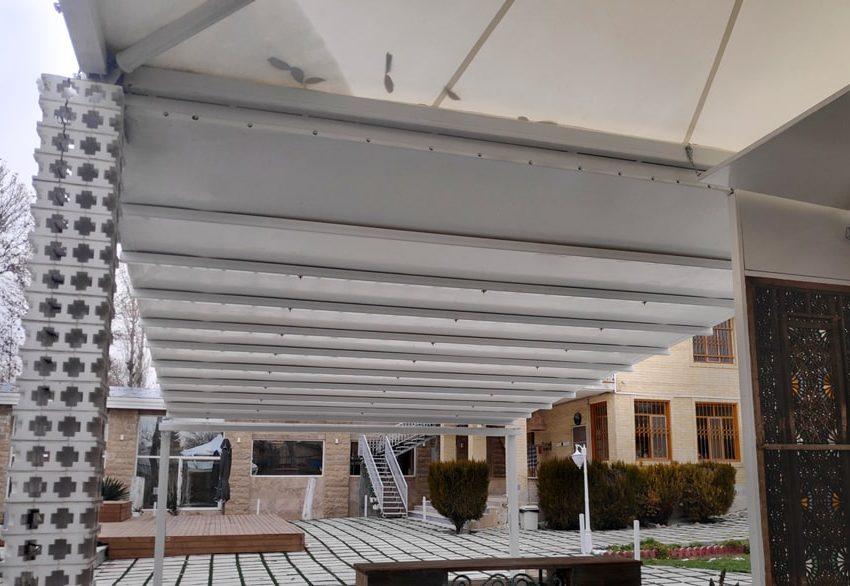 طراحی و اجرای سقف متحرک ویلا