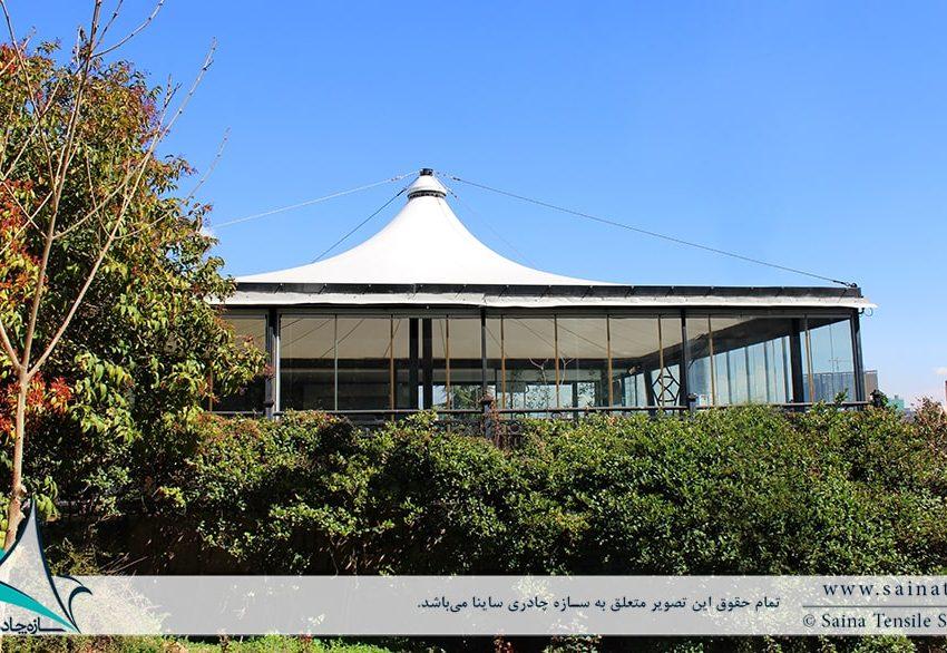 اجرای خیمه چادری کافه رستوران آبشار برج میلاد