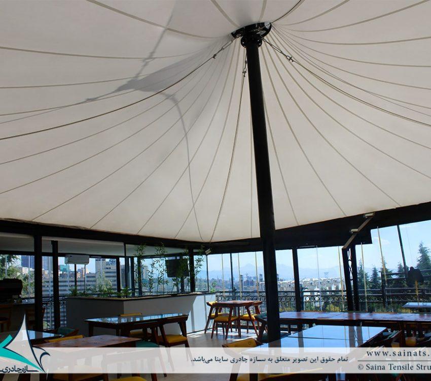 خیمه چادری کافه رستوران آبشار برج میلاد