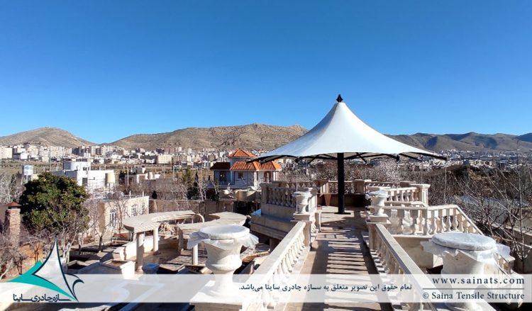 آلاچیق پارچه ای شهرک صدرا شیراز