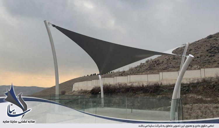 آلاچیق چادری ویلا لواسان شهرک باستی هیلز