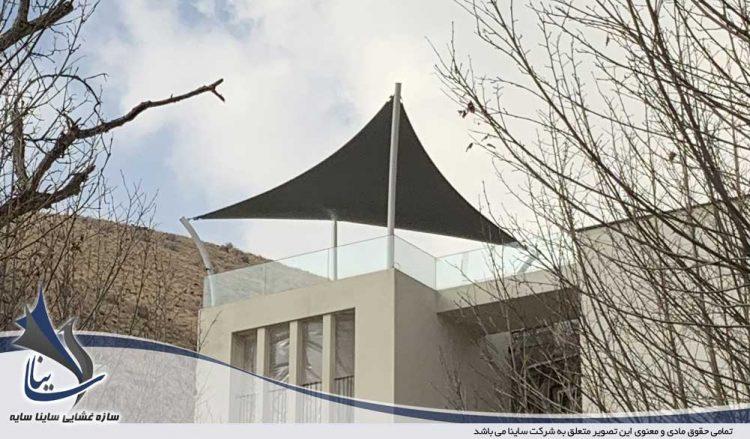 اجرای آلاچیق چادری ویلا لواسان در شهرک باستی هیلز