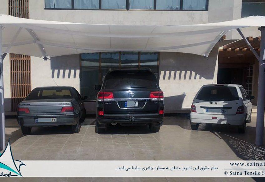 سایبان پارکینگ ماشین