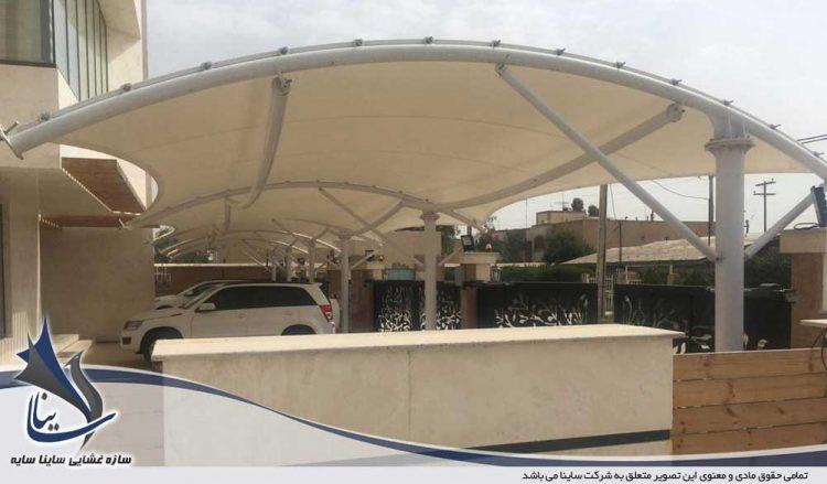 سایبان پارکینگ ماشین در ماهشهر