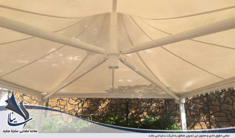 اجرای سقف پارچه ای رستوران