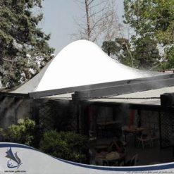 سقف پارچه ای کافه دیژون
