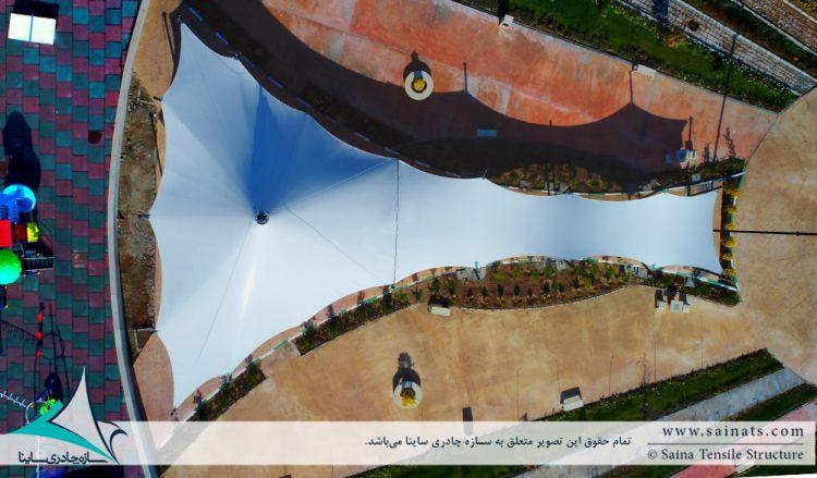 اجرای سایبان چادری رستوران و فودکورت و رستوران در پرند