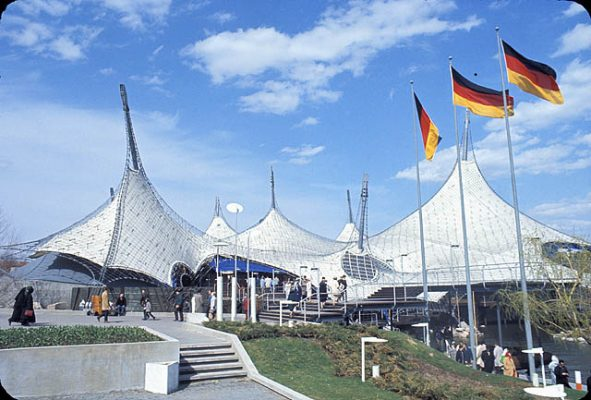 تاریخچه سازه چادری