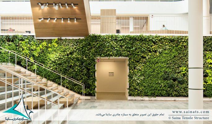 دیوار سبز یا گرین وال چیست؟